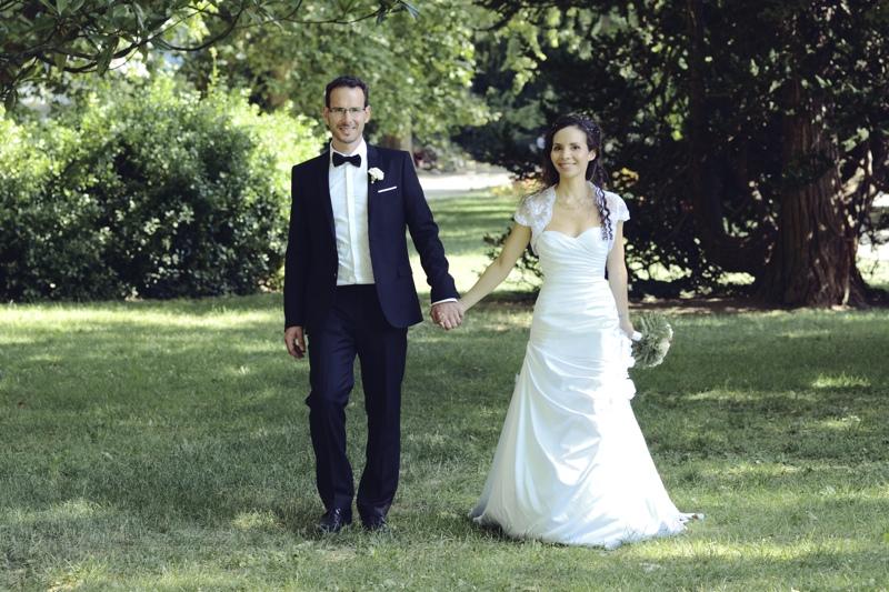 Mariage parc micaud