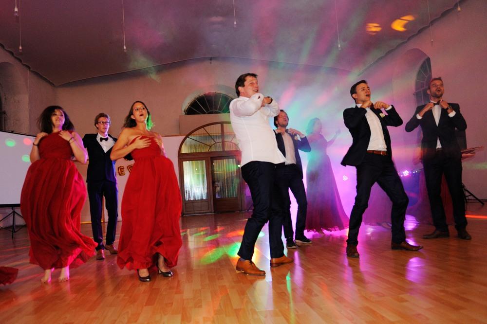 Danse des mariés à Villersexel