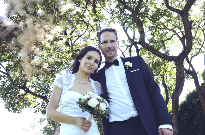 Photo mariés fort beauregard