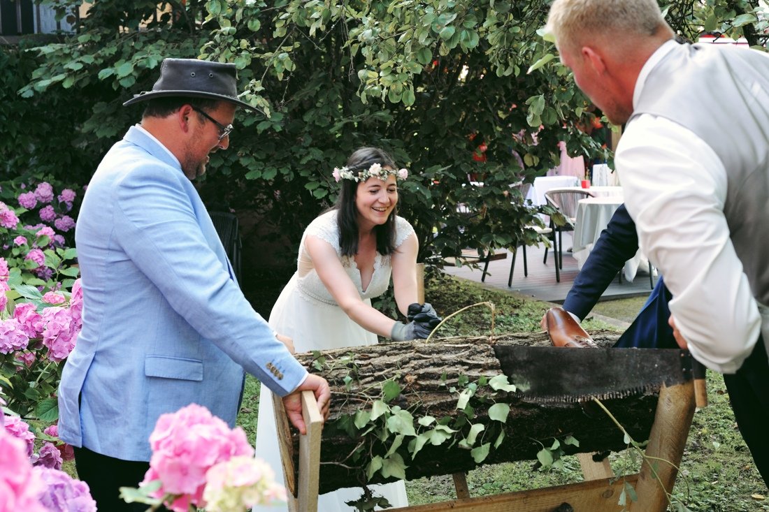 Mariage chaumiere dole
